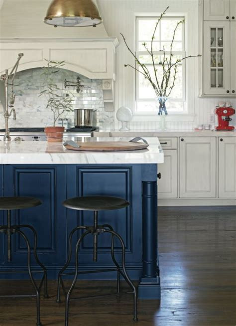 blue kitchen islands navy blue kitchen islands classic or trendy