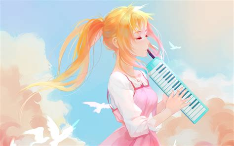 anime your lie in april wallpaper your lie in april kaori miyazono hd anime 7481