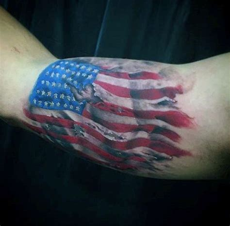 freedom tattoos for men 60 american flag tattoos for designs with a notion