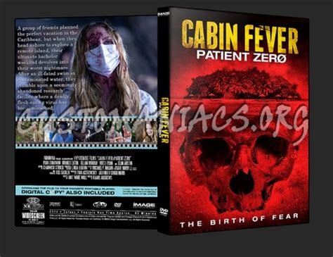cabin fever patient zero dvd cover dvd covers labels