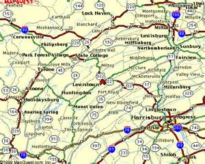 Map Of State College Pa by The 2011 Miss Central Pennsylvania Scholarship Pageant And