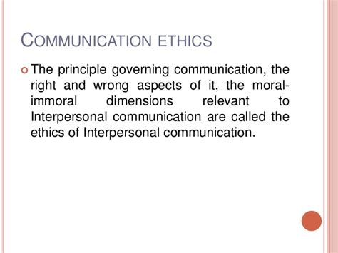 Ethics In Media Communications image gallery ethical communication