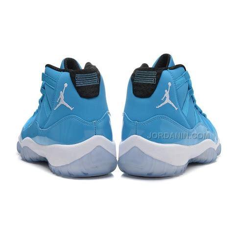 men jordan 11 c new air jordans 11 retro pantone university blue white