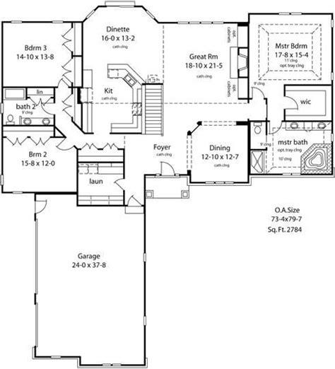 ranch floor plans open concept   home plans  pinterest