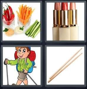 vegetables 4 pics 1 word 4 pics 1 word answer for vegetables lipstick hiker