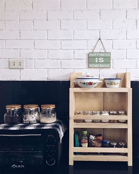 Rak Dinding Tempat Bumbu Dapur rak tempat barang dapur desainrumahid