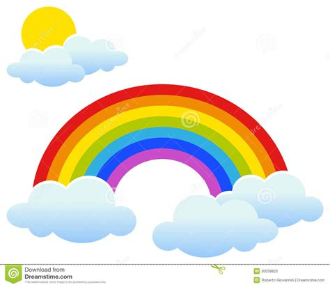 clipart arcobaleno sun and rainbow clipart clipart suggest