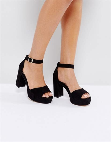 sandals high heels asos asos heidi heeled sandals