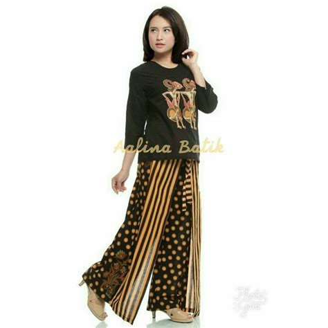Batik Blazer Monocrom 52 best batik celana kulot batik images on kulot batik blouse and blouses