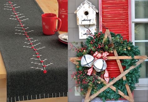 red  grey christmas decorations ideas interior god
