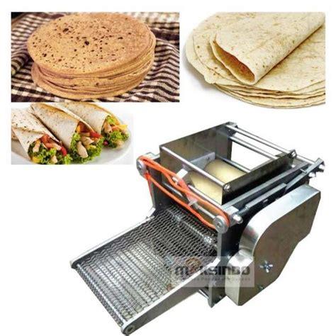 Jual Pollard Gandum Di Semarang jual mesin roti tortilla pita chapati trt50 di semarang
