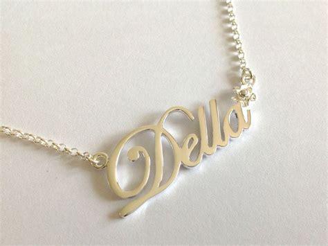 Kalung Nama Inisial Titanium kalung nama kalung inisial sterling silver perak 925