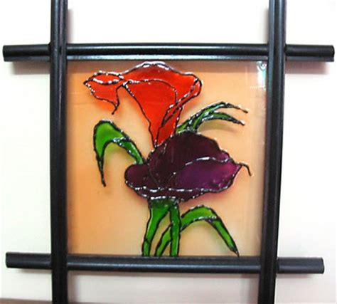 diy glass painting patterns ideas