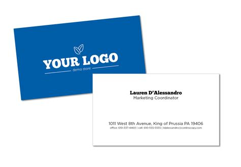 standard business card template 5 tips for business card design plus free template
