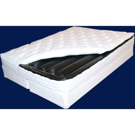 Waterbed Mattress Waveless Softside Waterbed Kit Stones Kenmore