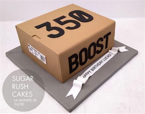 adidas boost  box cake
