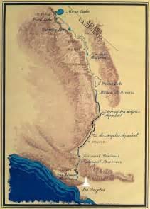 california aqueduct system map los angeles aqueduct mapmaven s notebook maven s notebook