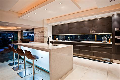 contemporary island kitchen contemporary sgnw house mesmerizes with fluid charm in the