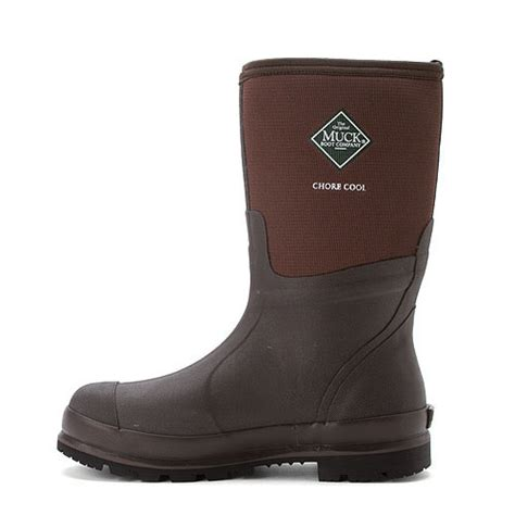 muck boot mens chore cool mid brown size 11 classic work