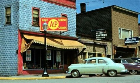 small town america small town america 1950s cars the days small towns america and 1950s