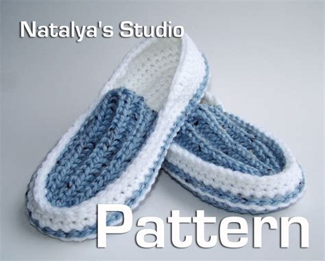 crochet moccasin slippers knit crochet slippers pattern ribbed moccasins pdf shoes