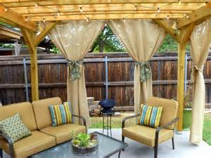 Outdoor Curtains For Pergola More Sunday Showcase Features And Last Week S Giveaway