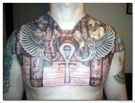 egyptian style tattoos 46 classic tattoos designs on rib