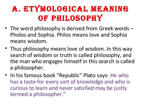 political biography meaning 3 1 etymological meaning of philosophy