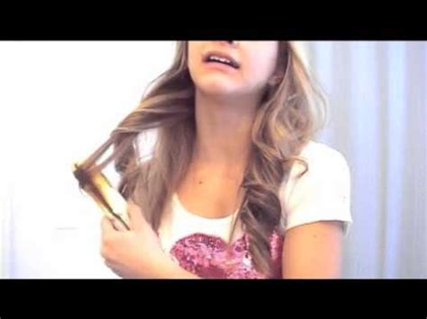 how to curl hair with straighteners flicks soft loose curls with a straightener hair tutorial youtube