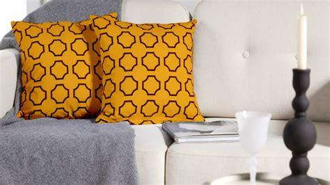 cuscini di arredamento cuscini gialli prodotti per l arredamento della casa