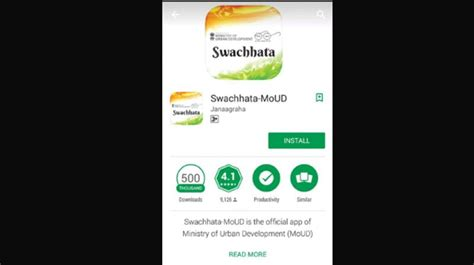 screenshot apps for android swachhta app makes headway in chennai
