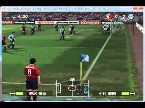Kaset Ps3 Winning Eleven 2010 j league winning eleven 2010 club chionship on pcsx2 0 9 7 playstation 2 emulator