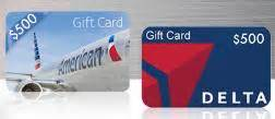 Delta Airline Gift Cards - contest win 500 american airlines or delta air lines gift card