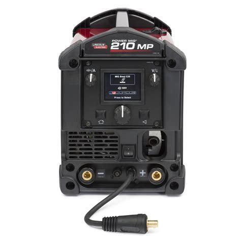 lincoln power mig 210 mp multi process welder for sale