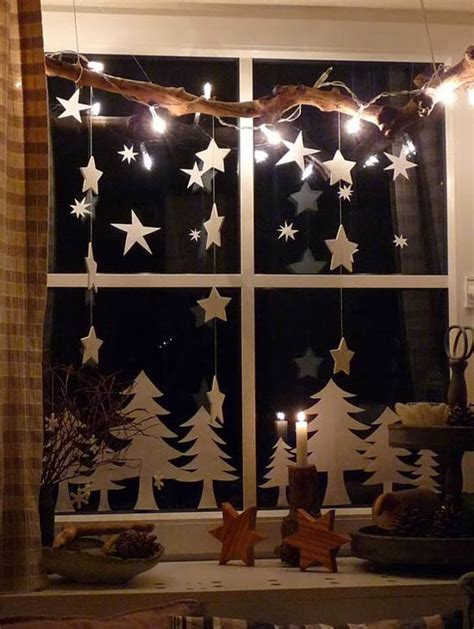 Fensterdekoration Weihnachten Kinder by 40 Stunning Window Decorations Ideas All