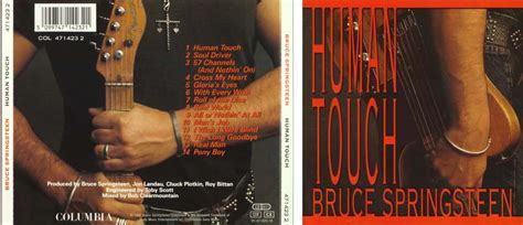 Kaset Bruce Springsteen Human Touch albums cd springsteen r e m radiohead simply