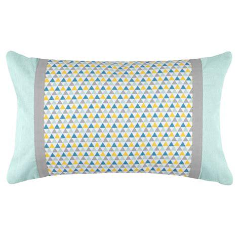 blue decorative pillows decorative pillow isocele blue
