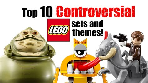 top 10 controversial lego sets and themes youtube