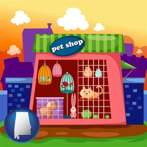 pet shops in alabama