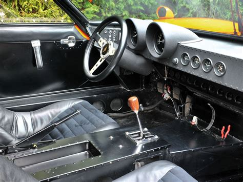 replica lamborghini interior very rare lamborghini miura svj replica for sale 1969