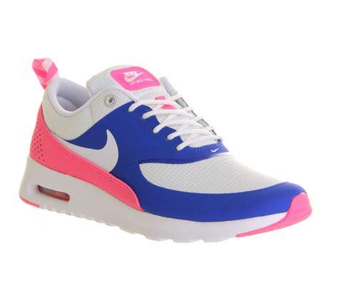 Nike Airmex Pink Tua Y3 nike air max thea royal white pink hers trainers