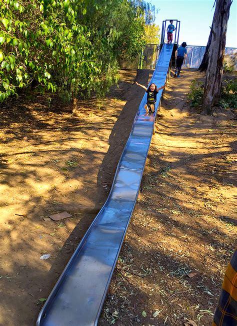 best parks slides at santiago park nature preserve in santa popsicle