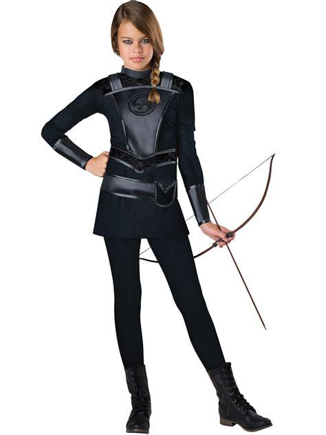warrior huntress tween costume everdeen katniss hunger
