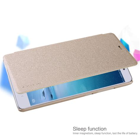 Nillkin Sparkle Leather For Xiaomi Redmi Note 3 Emas nillkin sparkle series new leather for xiaomi redmi