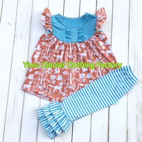 design clothes and sell them hot sell summer dress remake wolf design cotton girl