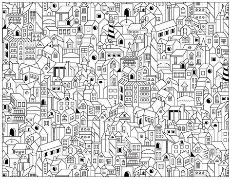 doodle city doodle city buildings doodling doodle coloring