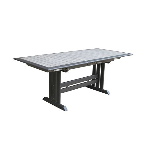 Rectangular Extension Dining Table Les Jardins Hegoa 77x35 Quot Rectangular Extension Dining Table Leisure Living