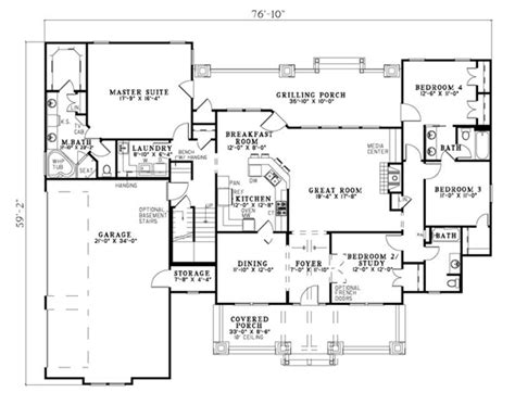 craftsman homes floor plans house plan 82217 at familyhomeplans