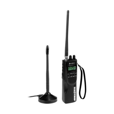 cobra hhroadtrip handheld 40 channel cb radio with mobile antenna 028377200472 ebay