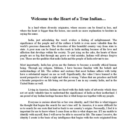 My Country India Essay For by Essay On My Country India In